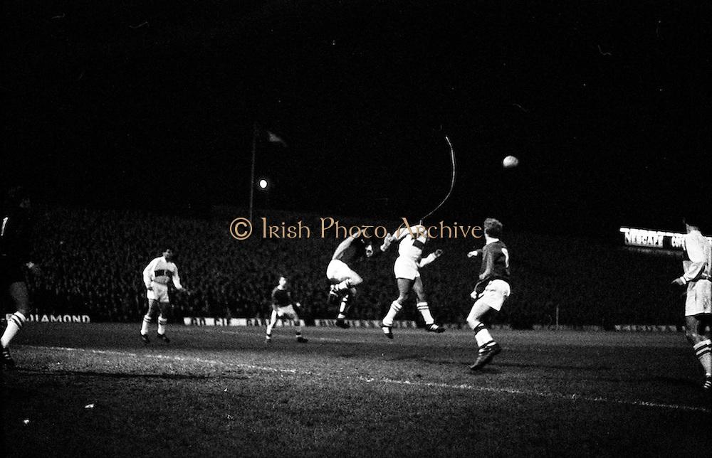 16/11/1966<br /> 11/16/1966<br /> 16 November 1966<br /> European Nations Cup: Ireland v Turkey at Dalymount Park, Dublin.
