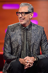 Jeff Goldblum during the filming of the Graham Norton Show at BBC Studioworks 6 Television Centre, Wood Lane, London, to be aired on BBC One on Friday evening.