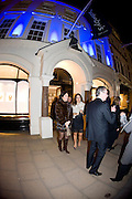 SILVIA BRUTTINI; SILVIA BOURNE.( WHITE JACKET)  Preview party for the Versace Sale.  The contents of fashion designer Gianni Versace's villa on Lake Como. Sothebys. Old Bond St. London. 16 March 2009.  *** Local Caption *** -DO NOT ARCHIVE -Copyright Photograph by Dafydd Jones. 248 Clapham Rd. London SW9 0PZ. Tel 0207 820 0771. www.dafjones.com<br /> SILVIA BRUTTINI; SILVIA BOURNE.( WHITE JACKET)  Preview party for the Versace Sale.  The contents of fashion designer Gianni Versace's villa on Lake Como. Sothebys. Old Bond St. London. 16 March 2009.