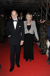 HRH PRINCE MICHAEL OF KENT and CLAIRE HORTON CEO of Battersea Dogs & Cats Home at the Collars & Coats Gala Ball celebrating 150 years of Battersea Dogs & Cats Home held at Battersea Power Station, London on 25th November 2010.