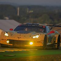 #64, Corvette Racing-GM, Chevrolet Corvette C7.R, driven by: Oliver Gavin, Tommy Milner, Marcel Fassler, 24 Heures Du Mans 85th Edition, 18/06/2017,