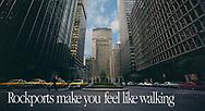 Rockport Shoes make you feel like walking,  Park Avenue New York