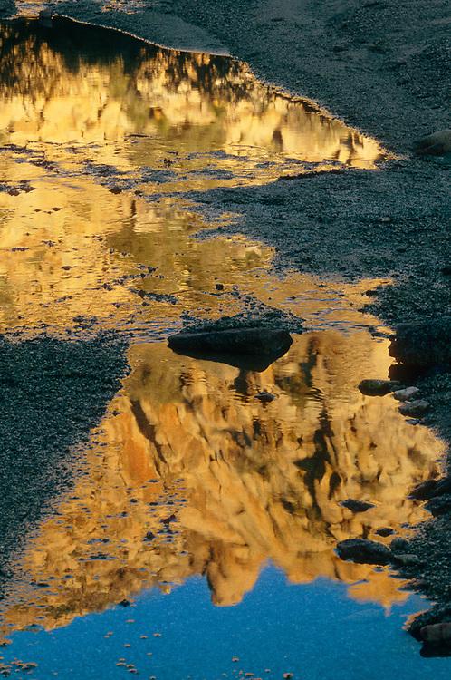 Connor's Paradise, morning light, Lost Horse Valley, Joshua Tree National Park, California, USA