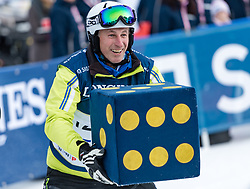 20.01.2018, Hahnenkamm, Kitzbühel, AUT, FIS Weltcup Ski Alpin, Kitzbuehel, Kitz Charity Trophy, im Bild Leo Stock // Leo Stock during the Kitz Charity Trophy of the FIS Ski Alpine World Cup at the Hahnenkamm in Kitzbühel, Austria on 2018/01/20. EXPA Pictures © 2018, PhotoCredit: EXPA/ Stefan Adelsberger