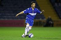 Leon McSweeney. Stockport County FC 1-0 Port Vale FC. Johnstones Paint Trophy. Edgeley Park. 2.9.08
