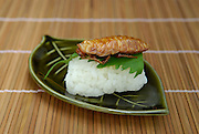 """Madagascar cockroach sushi. Tokyo resident Shoichi Uchiyama is the author of """"Fun Insect Cooking"""". His blog on the topic gets 400 hits a day. He believes insects could one day be the solution to food shortages, and that rearing bugs at home could dispel food safety worries."""
