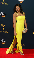 September 18, 2016 - Los Angeles, California, United States - Taraji P. Henson arrives at the 68th Annual Emmy Awards at the Microsoft Theater in Los Angeles, California on Sunday, September 18, 2016. (Credit Image: © Michael Owen Baker/Los Angeles Daily News via ZUMA Wire)