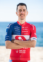 Ziga Horvat of Professional Slovenian cycling team KK Adria Mobil posing before new season 2021 during training camp in Istria, on February 15, 2021 in Porec, Croatia. Photo by Vid Ponikvar / Sportida
