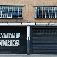S Cargo Works, Shutters, Southwark;<br />