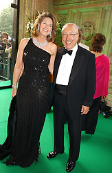 MR & MRS URS SCHWARZENBACH he is the multi millionaire polo patron at the NSPCC's Dream Auction held at The Royal Albert Hall, London on 9th May 2006.<br /><br />NON EXCLUSIVE - WORLD RIGHTS