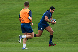 Deago Bailey of Bristol Bears in action during a training session - Rogan/JMP - 04/03/2021 - RUGBY UNION - Bristol Bears High Performance Centre - Bristol, England.