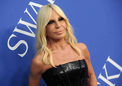 Donatella Versace at the 2018 CFDA Awards at the Brooklyn Museum in New York City, NY, USA on June 4, 2018. Photo by Dennis Van Tine/ABACAPRESS.COM