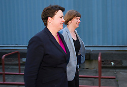 Pictured: Ruth Davidson and her partner Jen Wilson<br /> <br /> Edinburgh's election count ended in the early hours on Friday with Ruth Davidson in fighting mood following the results<br /> <br /> Ger Harley | EEm 9 June 2017
