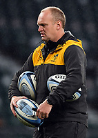 Rugby Union - 2019 / 2020 Gallagher Premiership - Final - Wasps vs Exeter Chiefs - Twickenham<br /> <br /> Wasps' Head Coach Lee Blackett during the pre match warm up.<br /> <br /> COLORSPORT/ASHLEY WESTERN