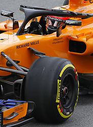 """November 9, 2018 - SãO Paulo, Brazil - SÃO PAULO, SP - 09.11.2018: GRANDE PRÊMIO DO BRASIL DE FÃ""""RMULA 1 2018 - Stoffel VANDOORNE, BEL, Team McLaren-Renault during the first free practice sessions for the 2018 Formula 1 Brazilian Grand Prix, held at the Autodromo de Interlagos, in São Paulo, SP. (Credit Image: © Rodolfo Buhrer/Fotoarena via ZUMA Press)"""
