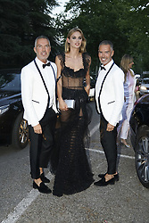 July 12, 2018 - Madrid, Spain - Dean Caten and Dan Caten attend  Vogue 30th Anniversary Party at Casa Velazquez on July 12, 2018 in Madrid, Spain. (Credit Image: © Oscar Gonzalez/NurPhoto via ZUMA Press)