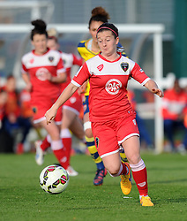 Bristol Academy's Christie Murray - Photo mandatory by-line: Paul Knight/JMP - Mobile: 07966 386802 - 09/05/2015 - SPORT - Football - Bristol - Stoke Gifford Stadium - Bristol Academy Women v Arsenal Ladies FC - FA Women's Super League
