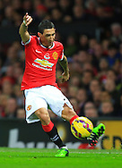 Angel di Maria of Manchester United - Manchester United vs. Crystal Palace - Barclay's Premier League - Old Trafford - Manchester - 08/11/2014 Pic Philip Oldham/Sportimage