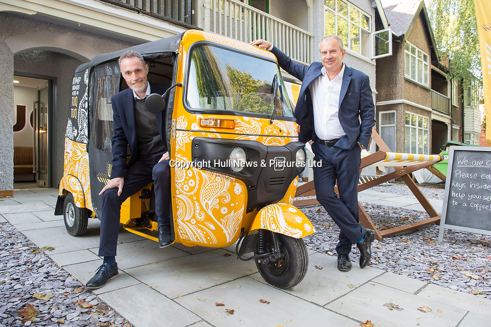 17 September 2019: KCOM have launched a partnership with the Kexgill Group, providing all their student accommodation with Lightstream.<br /> Pictured is Alan Worthing (left) of KCOM and Richard Stott, MD of Kexgill.<br /> Picture: Sean Spencer/Hull News & Pictures Ltd<br /> 01482 210267/07976 433960<br /> www.hullnews.co.uk         sean@hullnews.co.uk
