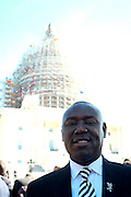 Washington, D.C-Oct 10:  Attorney Benjamin Crump attends the Million Man March 20th Anniversary March aka JusticeOrElse March held in Washington, D.C. on October 10, 2015.  Photo by Terrence Jennings/terrencejennings.com