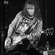 ALLENTOWN - NOVEMBER 1: Ace Frehley, of the band KISS, performs at Starz Nightclub on November 1, 1995, in Allentown, Pennsylvania. ©Lisa Lake