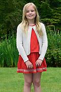 Koninklijke fotosessie 2016 op landgoed De Horsten ( het huis van de koninklijke familie)  in Wassenaar.<br /> <br /> Royal photoshoot 2016 at De Horsten estate (the home of the royal family) in Wassenaar.<br /> <br /> Op de foto / On the photo: prinses Ariane / Princess Ariane
