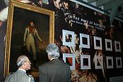 Opening van de Tentoonstelling Voor Napoleon. Hollanders in oorlogstijd, 1792-1815 in het Legermuseum, Delft.<br /> De tentoonstelling is op 13 oktober geopend door Charles Napoléon, le Prince, een directe afstammeling van Napoleon Bonaparte.  <br /> <br /> Op de foto:<br /> <br /> <br /> <br /> <br /> Charles Napoléon ,
