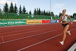Katarina Beresova of Slovakia during the women's 1500m at athletics meeting Ljubljana Grand Prix 2010 for 5th Memorial Matic Sustersic and Patrik Cvetan on August 29, 2010, in Ljubljana, Slovenia. (Photo by Matic Klansek Velej / Sportida)