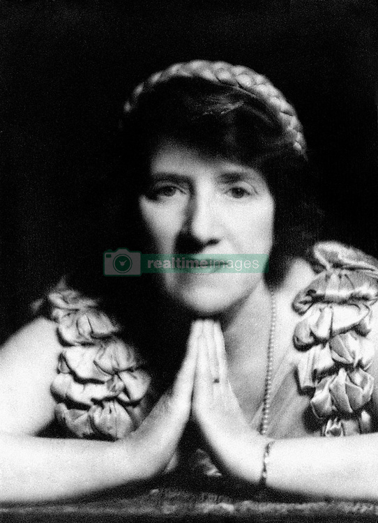 File photo dated 01/02/1940 of Dr Marie Stopes, the pioneer of birth control. She has been voted tenth in a list of women who have made the most significant impact on world history.