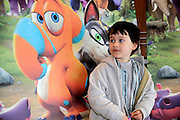NO FEE PICTURES <br /> 19/4/15 Faolan Pericart, age 5, Phibsboro at the Irish Premiere of Two by Two at the Savoy cinema in Dublin. Picture:Arthur Carron