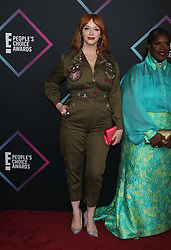 2018 People's Choice Awards. 11 Nov 2018 Pictured: Christina Hendricks. Photo credit: Jaxon / MEGA TheMegaAgency.com +1 888 505 6342