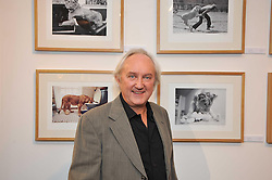 Photographer DEREK CATTANI at an exhibition of photographs and art works inspired by the story of Christian The Lion in aid of the George Adamson Wildlife Preservation Trust and the Born Free Foundation held at the Queen's Elm Gallery, 241 Fulham Road, London on 15th October 2009.