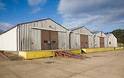 Industrial buildings on former USAF Bentwaters base, Rendlesham, Suffolk, England