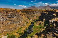 Dzoraget river Lori Berd canyon panorama landscape Stepanavan landmark of Lorri Armenia eastern Europe