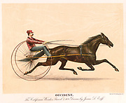 Occident The California Wonder 1889 Driven by James L. Eoff