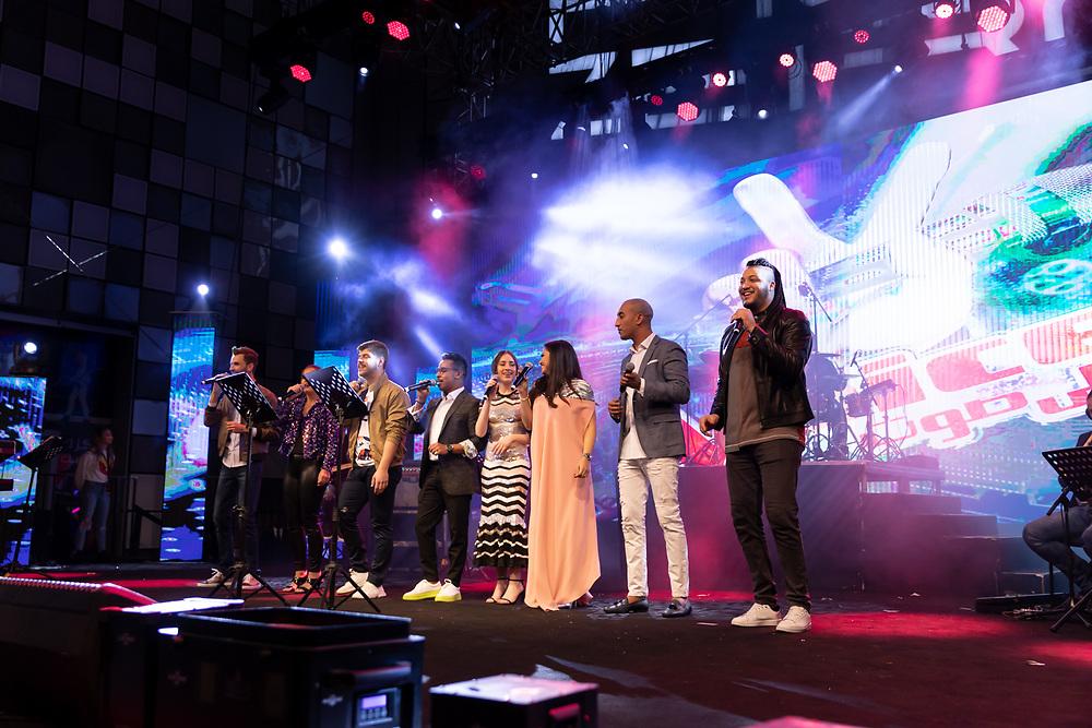 MBC The Voice students live in Dubai, DSF 2020