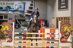 Beghuin Sascha, BEL, Galliano de Virton<br /> Pavo Hengsten competitie - Oudsbergen 2021<br /> © Hippo Foto - Dirk Caremans<br />  22/02/2021