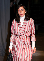 Dana Hourani attending the Burberry London Fashion Week Show at Makers House, Manette Street, London