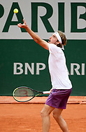 Stefanos Tsitsipas of Greece during day 4 of the French Open 2021, Grand Slam tennis tournament on June 2, 2021 at Roland-Garros stadium in Paris, France - Photo Jean Catuffe / ProSportsImages / DPPI
