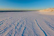 Snow, Rogers Beach, Westhampton Beach, NY