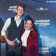 NLD/Zaandam/20190128- première musical Op Hoop van Zegen, Chiara Re en partner
