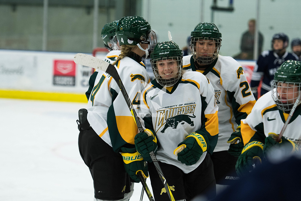 Women's Hockey home game on October 13 at Co-operators arena. Credit: Arthur Ward/Arthur Images