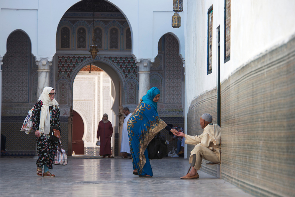 Moulay Idriss is a town of pilgrimage in northern Morocco, spread over two hills at the base of Mount Zerhoun. Here lies the tomb of Idris I, the first major Islamic ruler of Morocco.