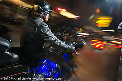 Main Street during Daytona Bike Week. FL, USA. March 13, 2014.  Photography ©2014 Michael Lichter.