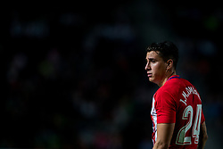 October 25, 2017 - Elche, Elche, Spain - Gimenez of Atletico de Madrid during the Spanish Copa del Rey (King's Cup) round of 32 first leg football match between.Elche CF and Atletico de Madrid at the Martinez Valero stadium in Elche (Credit Image: © Sergio Lopez/Pacific Press via ZUMA Wire)