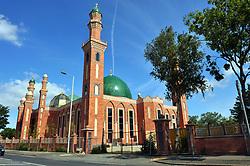 Newly built Horton Park Mosque, Bradford
