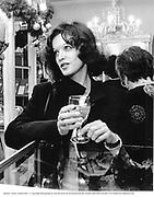 Barbara Amiel. London1991. © Copyright Photograph by Dafydd Jones 66 Stockwell Park Rd. London SW9 0DA Tel 020 7733 0108 www.dafjones.com
