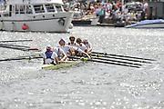 Henley, GREAT BRITAIN, Ladies Challenge Plate, Mainzer Ruder-Verein and RuderClub Berliner, Germany. 2008 Henley Royal Regatta  on Saturday, 05/07/2008,  Henley on Thames. ENGLAND. [Mandatory Credit:  Peter SPURRIER / Intersport Images] Rowing Courses, Henley Reach, Henley, ENGLAND . HRR