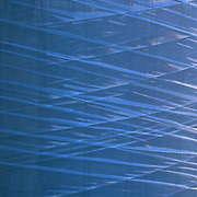 Abstract image of blue lines