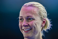 July 29, 2017 - Budapest, Ungern - 170729 Sveriges Sarah Sjöström jublar efter semifinalen pÃ¥ 50 meter bröstsim under sim-VM den 29 mars 2017 i Budapest  (Credit Image: © Petter Arvidson/Bildbyran via ZUMA Wire)